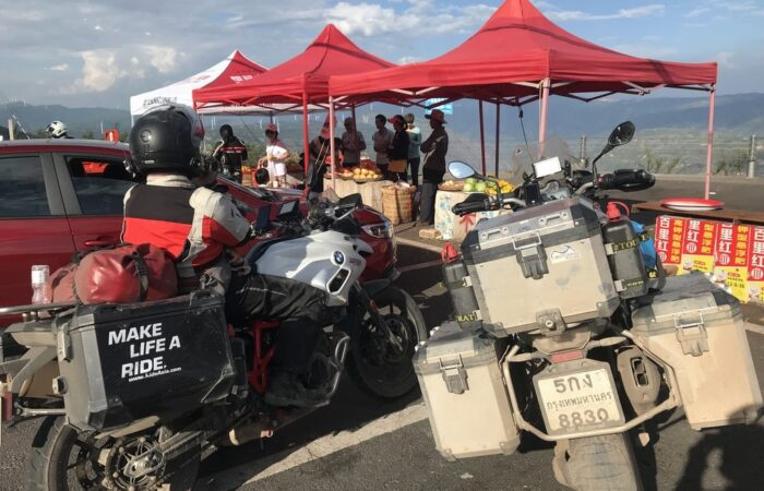 Panxhihua lookout - motorcycle tour of China