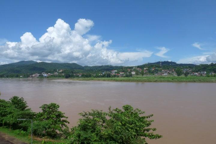 Chiang Khong - the Mekong River - motorcycle tour