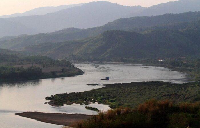 Mekong River near Chiang Khong