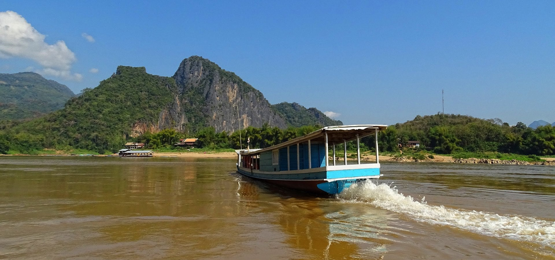 Along the mighty Mekong