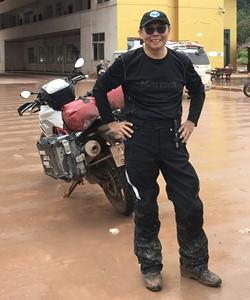 BMW Motorrad motorcycle tour guide Prasit