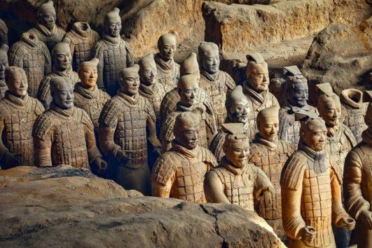 Terracotta Warriors - Xian motorcycle tours