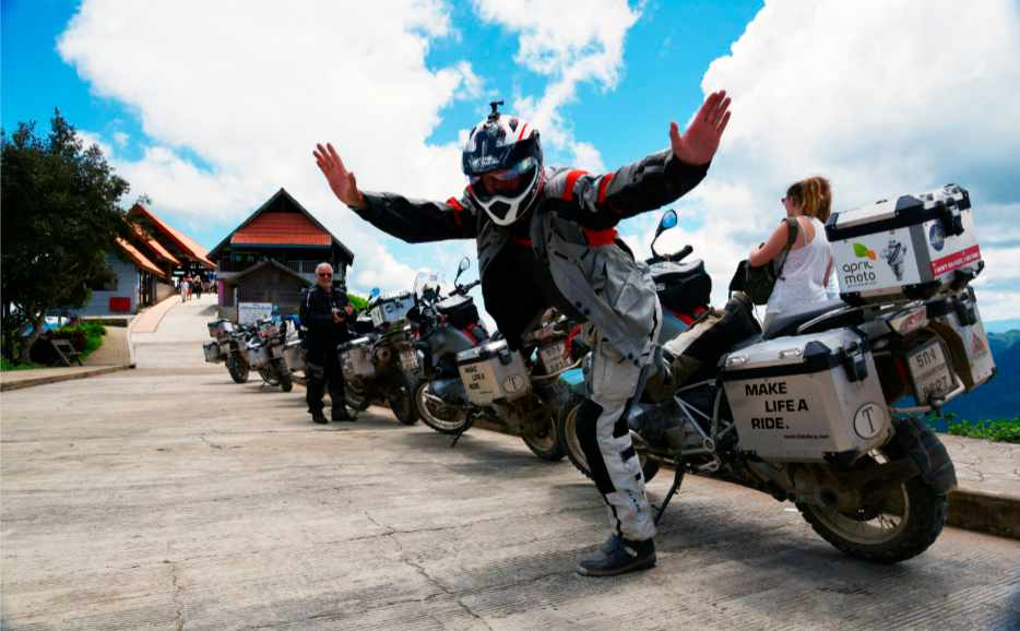 BMW motorcycle tour guide